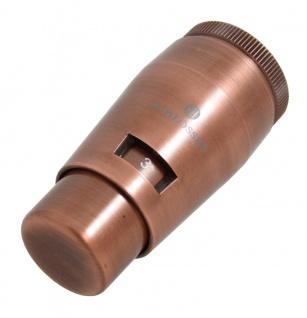 Schlösser Thermostatkopf Mini M30 x 1, 5 Heimeier Kupfer Antik 6011 00037
