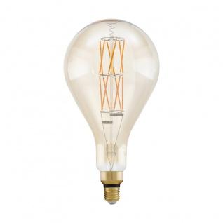 EGLO Vintage E27 LED Leuchtmittel 8W 806lm 2100K PS160 Tropfen 305x160mm dimmbar