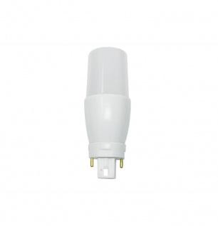 Bioledex LED Lampe G24 7W 600Lm PLC 3000K Warmweiss für G24d-1, G24d-2, G24d-3