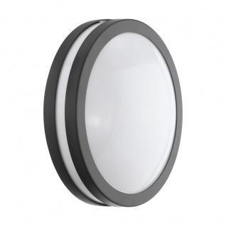 EGLO Connect LOCANA-C LED Wand u. Deckenleuchte außen anthrazit IP44 App Steuerbar