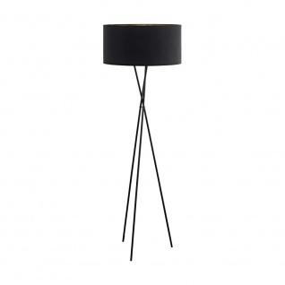 EGLO FONDACHELLI Stehlampe dreibein 1-flg., E27, schwarz, kupfer