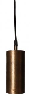 Hängeleuchte Industrie design aus Metall antik messing PR Home Ample 7x350cm E27 mit Stecker
