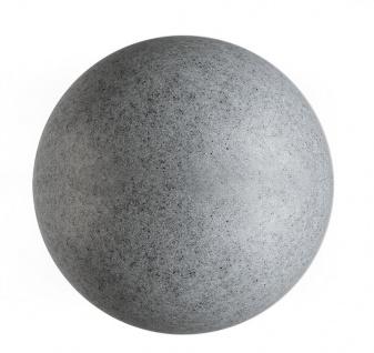 Deko Light dekorative Kugelleuchte Granit 59 für Außen Granit IP65 1 flg. E27 Dekorativ