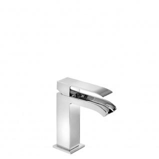 Tres Cuadro Exclusiv Waschtisch Einhebel Armatur mit offenen Kaskadenauslauf 006.110.01
