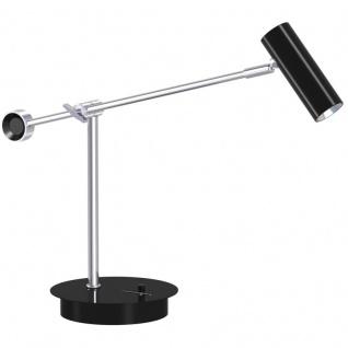Nord Classic LED Schreibtischleuchte schwarz