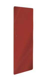 Lohema Design Glas Heizkörper elektrisch Classic 1000W rot 1220x 600mm