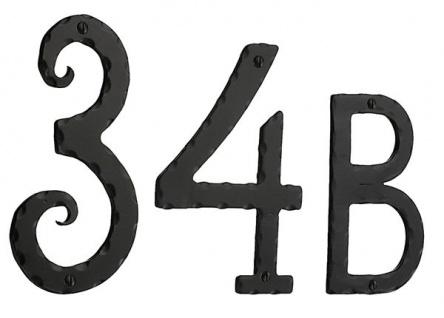 Smedbo Hausnummer 1 Schmiedeeisen schwarz Artikel Nr. S021