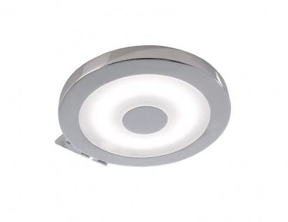 Deko Light Spiegel Rund Möbelaufbauleuchte LED silber IP44 300lm 4000K >80 Ra 120° Modern