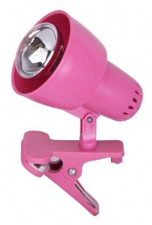Rabalux Clip Klemmleuchte 1x E14 rosa