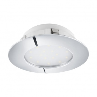 LED Einbauspot EGLO PINEDA 102mm chrom dimmbar