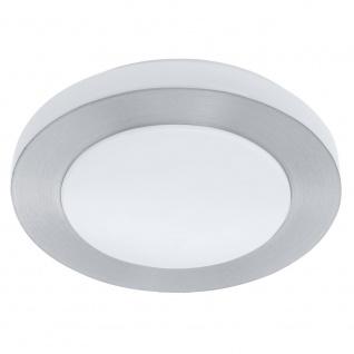 EGLO CARPI LED Deckenleuchte DM300, 1-flg., weiss, alu-gebürstet