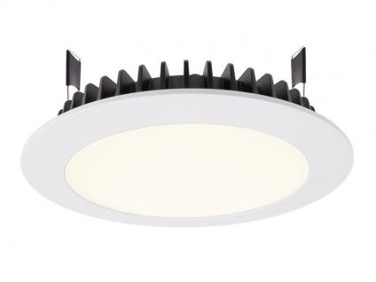 Deko Light LED Panel Round III 20 Einbaustrahler weiß 1970lm 4000K >80 Ra 100° Modern