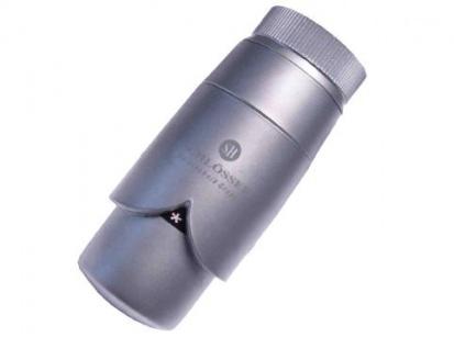 Schlösser Thermostatkopf Brilliant M30 x 1, 5 für Danfoss silbergrau satiniert 6005 00010