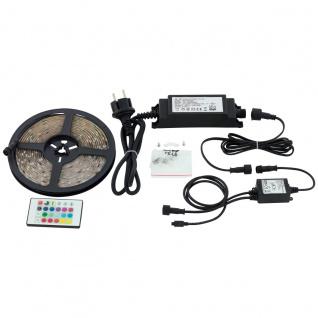 RGBW LED Stripe EGLO LED STRIPES-FLEX 5m IP44 1000lm mit Fernbedienung