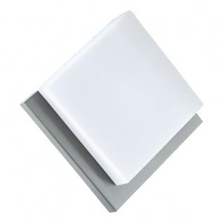 EGLO INFESTO 1 LED Außen Wand & Deckenleuchte, IP44, edelstahl, silber, 94877