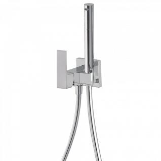 Tres Cuadro-Tres Unterputz Einhebel WC Hygiene Brause für Gipsplatten Montage 006.123.02