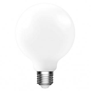 Nordlux LED E27 G95 Leuchtmittel 8, 6W 1055lm 2700K RA80 360° Filament satiniert dimmbar