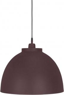 Hochwertige Pendelleuchte aus Metall weinrot PR Home Rochester 45cm E27 dimmbar