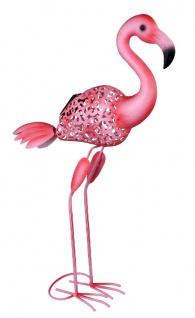 LED Solarlampe Flamingo 740mm von Globo