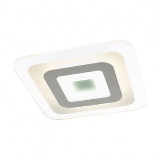 EGLO REDUCTA 1 LED Deckenlampe 500mm 2400lm eckig Farbwechsel warm-kaltweiß
