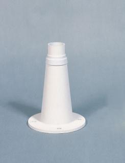 KONSTSMIDE Junior Sockel weiß matt 24, 5cm für Konstsmide Leuchten
