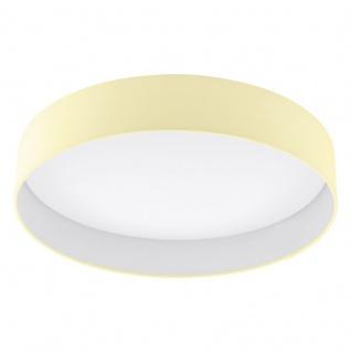 EGLO PALOMARO LED Deckenleuchte, rund, 500mm, weiss, creme