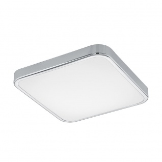 EGLO MANILVA 1 LED Deckenleuchte, 1-flg., chrom, weiss