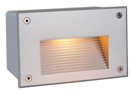 Deko Light Side II WW Wandeinbauleuchte außen silber-matt IP65 1 flg. G9 Modern
