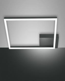 LED Deckenleuchte anthrazit satiniert Fabas Luce Smartluce Bard 3510lm