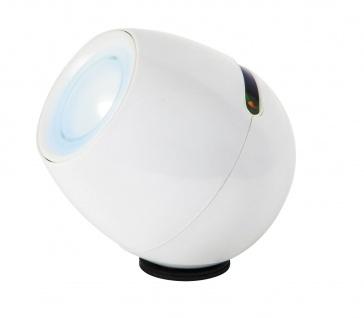 Rabalux Cordelia LED Dekoleuchte mit festverbauter Batterie und USB-Kabel, weiß