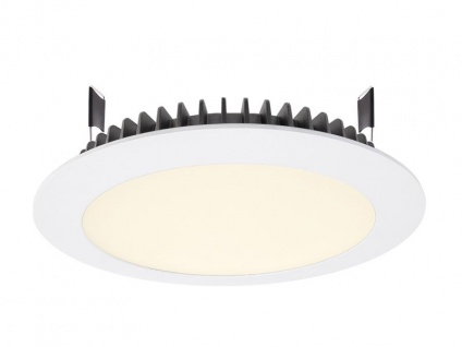 Deko Light LED Panel Round III 26 Einbaustrahler weiß 2680lm 3000K >80 Ra 100° Modern