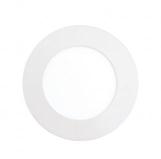 EGLO Connect FUEVA-C LED RGB Einbaulampe 120mm rund weiss App Steuerbar