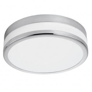 EGLO PALERMO LED Deckenleuchte DM295, 1-flg., chrom, weiss