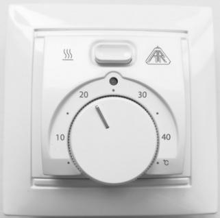 ARak Thermostat Standard ST-AR 16 SL cremeweiss