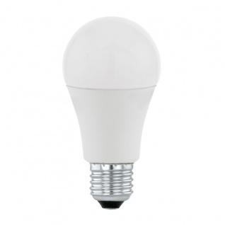 EGLO LED E27 A60 Leuchtmittel 50% 5, 5W 2700K 470lm, 100% 10W 4000K 806lm
