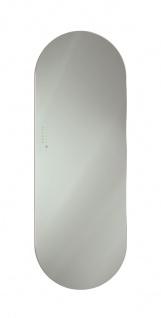 Lohema Design Glas Heizkörper elektrisch Ring 1000W grau 1660 x 600mm