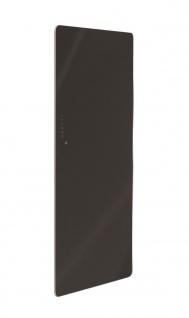 Lohema Design Glas Heizkörper elektrisch Classic 1000W schwarz 1220x 600mm