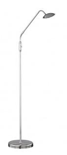 Wofi TWIN 006 LED Stehleuchte, nickel-matt