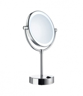 Smedbo Outline Kosmetikspiegel mit Led-Beleuchtung Dual Licht FK474E