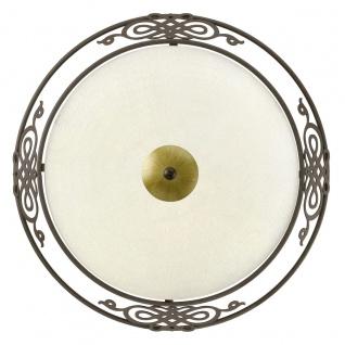 EGLO MESTRE Wand & Deckenleuchte, 395mm, E27 antik-braun, gold