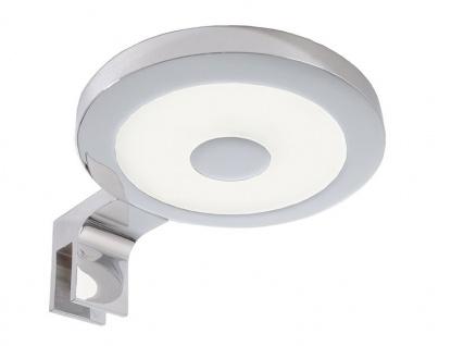 Deko Light Spiegel Rund II Spiegelleuchte LED silber, weiß IP44 300lm 4000K >80 Ra 120° Modern