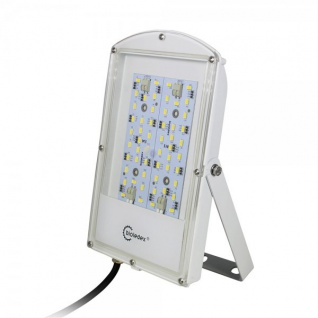 Bioledex ASTIR LED Fluter 12VDC 28W 2400Lm 120° 3000K Grau