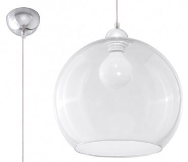 Sollux BALL Kugel Hängellampe klar, chrom 1-flg. E27