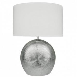 Wofi Tischlampe LEGEND silber E27