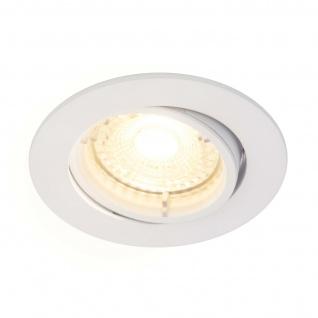 LED Einbaustrahler weiß Nordlux Carina 3er Set GU10 a 345lm 2700K dimmbar
