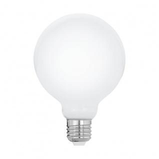 EGLO LED Leuchtmittel E27 G95 8W 1055lm 4000K opal 95x135mm