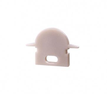 Deko Light Endkappe R-ET-01-05 Set 2 Stk für Profil weiß
