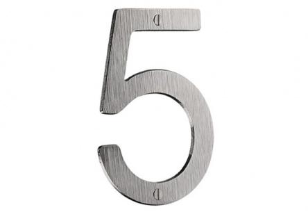 Smedbo Hausnummer 0 Mattverchromt Artikel Nr. V980