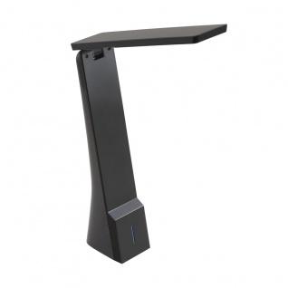 EGLO LA SECA LED Schreibtischlampe schwarz 400lm Farbwechsel warm-kaltweiß