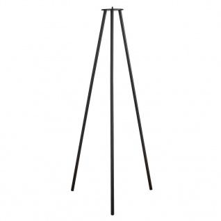 Nordlux Kettle tripod 100 schwarz Metall 102, 9cm mit Gewinde für Kettle 22 und 36